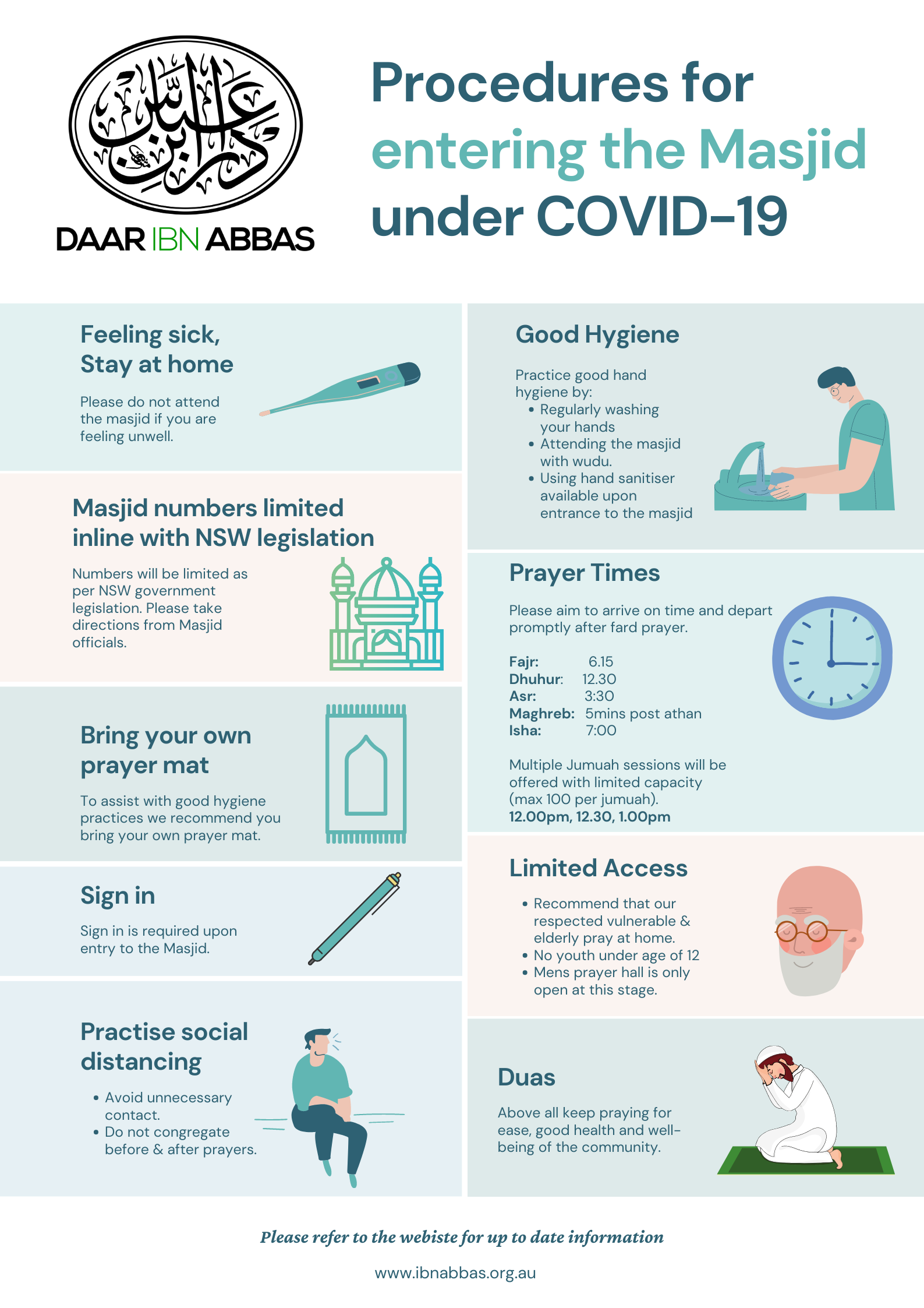 COVID19 Conditions of entry